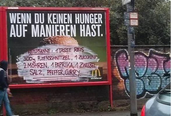 Fast Food Streetart